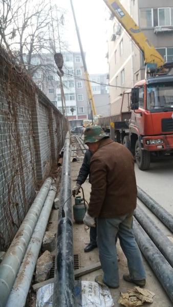 甘肃省兰州市燃气管道拖管凯发娱网址是什么案例